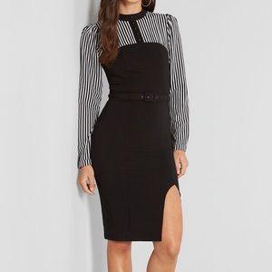 ModCloth Stripes and Sophistication Sheath Dress